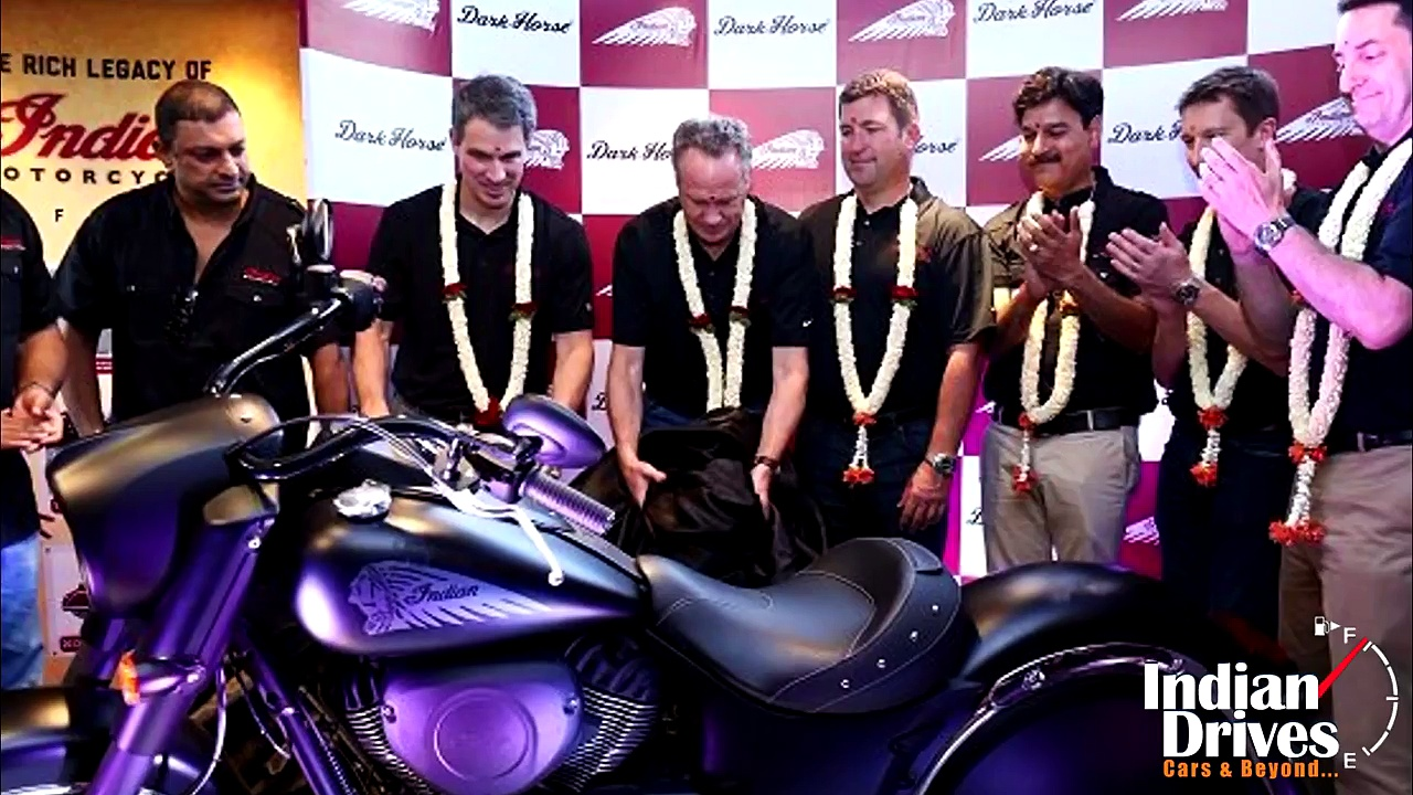 Indian Motorcycles Chief Dark Horse Launched