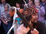 Tamaki Maori Village Challenge Ceremony