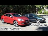 Garagem do Bellote TV: Renault Fluence GT vs Peugeot 405 T16