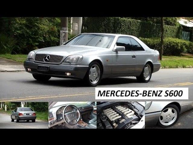 Garagem do Bellote TV: Mercedes-Benz S600 Coupe (C140)