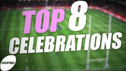 TOP 8 CELEBRATIONS