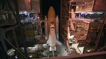 The new X-37B Space Shuttle and the old NASA Space Shuttle - 2010.04.26