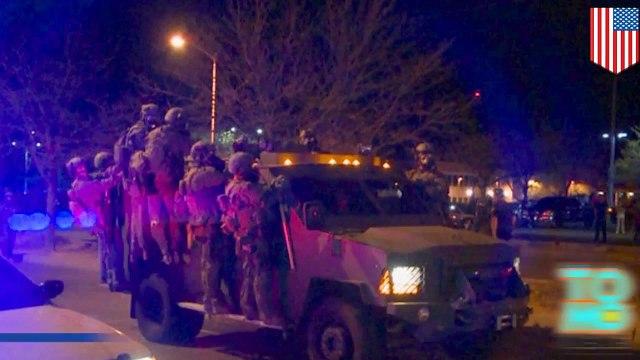 احتجاجات البوكريك إثر حادثة جيمس بويد تصدى لها حفظ النظام بالغاز المسيل للدموع