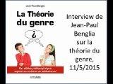 Interview de Jean-Paul Benglia sur la théorie du genre