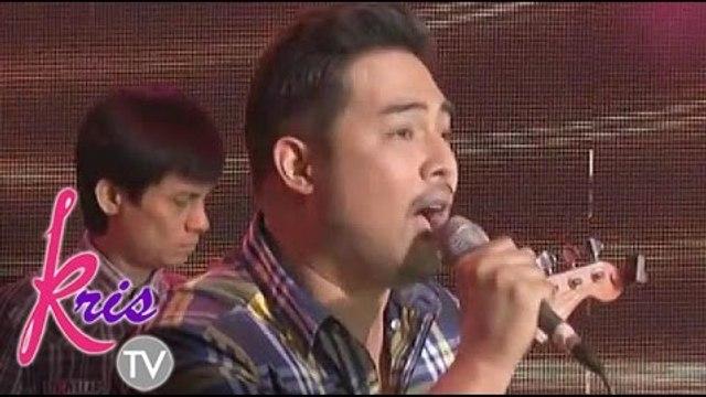 Jed Madela sings 'Payphone' on Kris TV