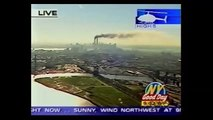 """Attentats 11 septembre 2001 WTC 9/11 - Second impact (WNYW: """"Good Day NY"""" en direct Fox5)"""