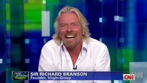 Asked about belief in God, Richard Branson says he believes in evolution
