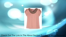 Quality Embellished Bead Collar Ruffle Shoulder Tops T-Shirts Blouse Review