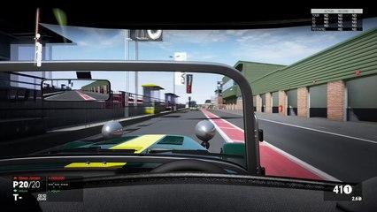 Project CARS - Caterham - Qualifacation et course (vue casque)