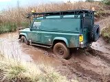 Extreme Muddy 4x4 Land Rover Off Road Driving