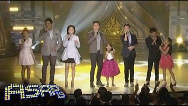 Darlene, Lyca sing with Yeng Constantino & Erik Santos
