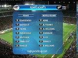 Finale coupe du monde Rugby 2011 - les hymnes et le haka