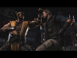 Mortal Kombat X Pc Max 60fps Gameplay Scorpion Vs Johnny Cage