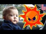Baby in hot car: disturbing new trend or disturbing news trend?