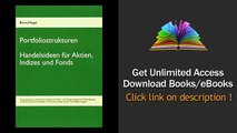 Portfoliostrukturen Handelsideen für Aktien, Indizes und Fonds Anwendung von technischen Indikat