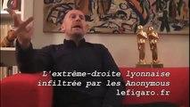 Alain Soral  .. le problème d'Anonymous ...
