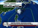 'Dodong' papalabas ng bansa bukas ng umaga