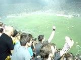 Aris F.C. - Boca Juniors C.A. - Los locos hinchas del Aris de Salonico Grecia