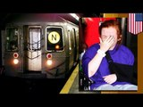 Drunk Irish woman Mary Downey falls onto subway tracks, ran over 3 times, and lives!