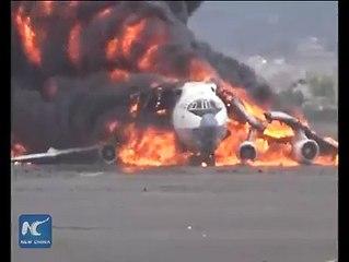 Saudi arabia air stick in yeman