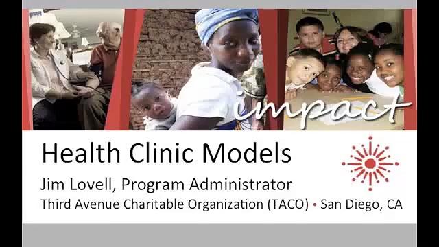 Health Clinic Models – Third Avenue Charitable Organization (TACO)
