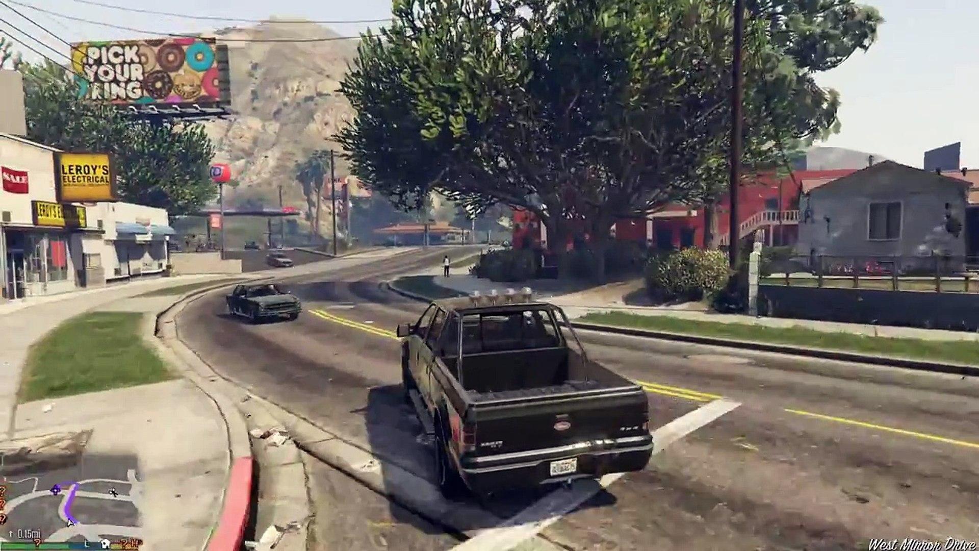 Grand Theft Auto V PC Walkthrough - Getaway Vehicle GTA 5) Part 35 Gameplay  - video Dailymotion