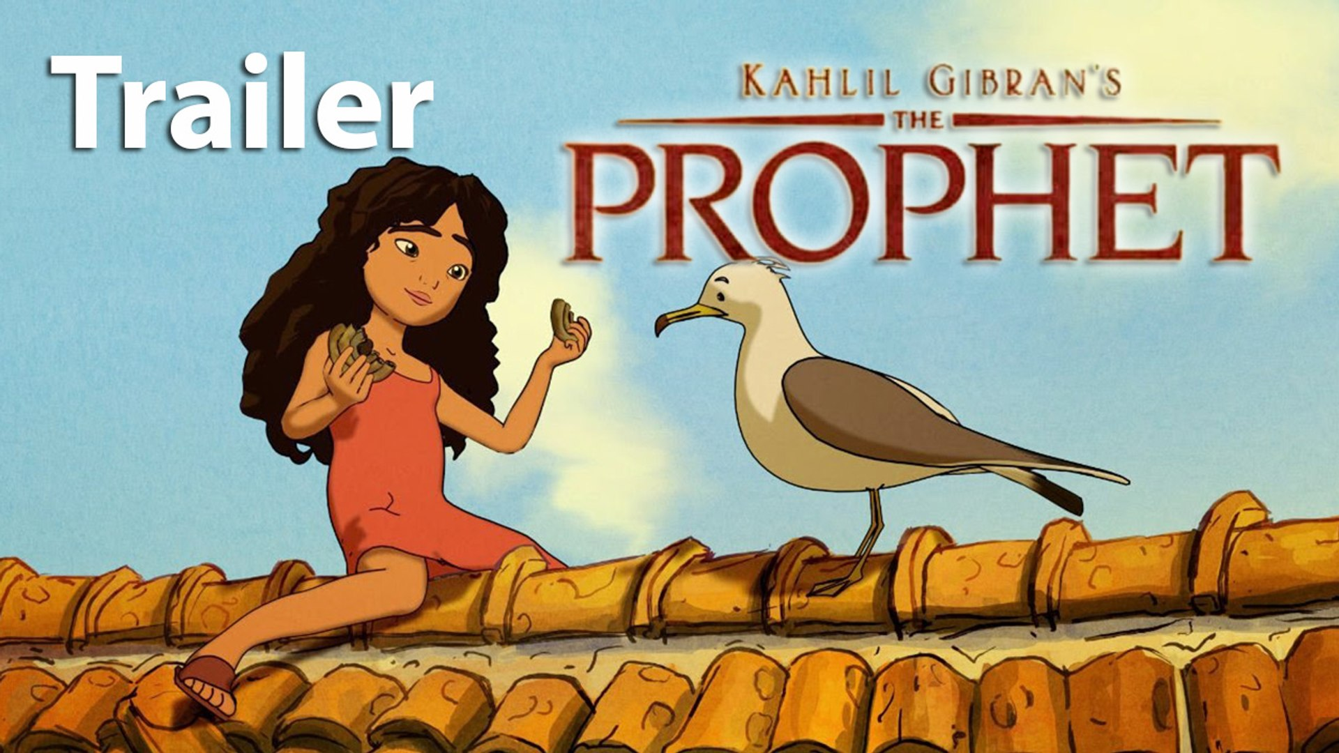 Kahlil Gibran S The Prophet Trailer Hd Animation Video Dailymotion