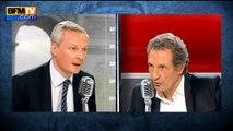 """Bruno Le Maire finalement favorable aux """"Républicains"""""""