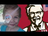 KFC girl hoax? Victoria Wilcher's grandma made up story about being asked to leave because of scars