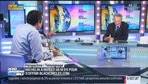 Michelin rachète 40% du capital d'Allopneus: Jean-Dominique Senard - 12/05