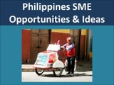 Philippines SME Opportunities and Business Ideas
