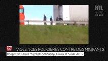 Des violences policières contre des migrants à Calais