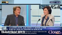 19h Ruth Elkrief : Bernard Tapie compare Marine Le Pen et Mireille Mathieu, Lundi 11 Mai