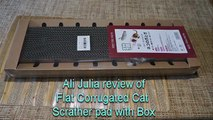 Excellent Favorite Flat Corrugated Cat Scrather pad with Box for Cats and Kittens