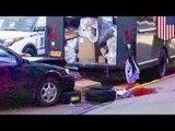 Молодой водитель отрезал ногу водителю UPS