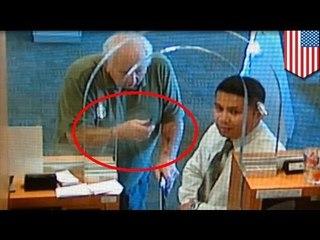 77-летний дедушка попытался ограбить банк