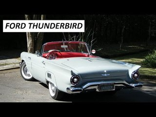 Garagem do Bellote TV: Ford Thunderbird (1957)