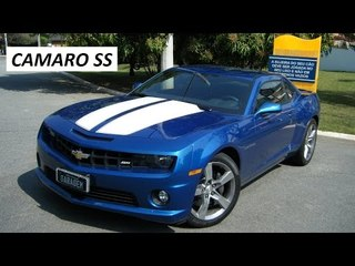 Garagem do Bellote TV: Chevrolet Camaro SS (manual, 426 cv)