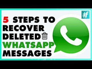 How To Recover Deleted Messages On Whatsapp