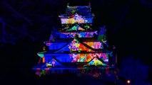大阪城 3Dプロジェクションマッピング Osaka Castle 3D Mapping Super Illumination 2014-2015 [4K]