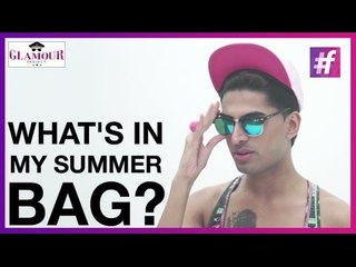 What's in My Summer Bag? | Glamour Project With Sushant Divgikar