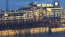 Italie : le dernier voyage du Costa Concordia