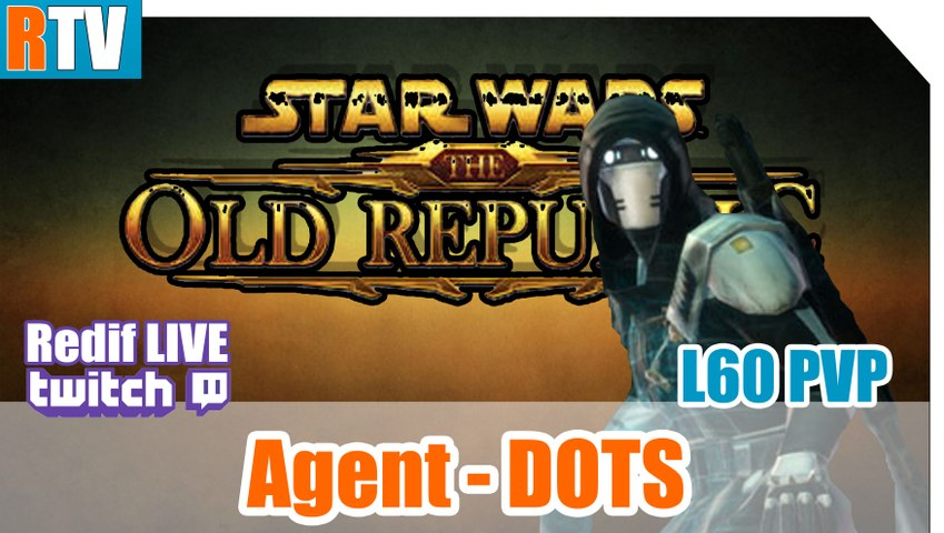 "SWTOR L60 PVP - Agent secret DOTS - "" Enfin en duo ! """