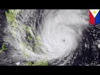 強烈颱風哈格比肆虐菲律賓 數百萬人無家可歸