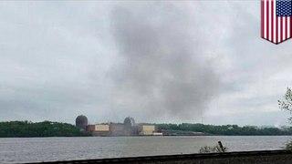 變壓器爆炸導致紐約電廠無法運作