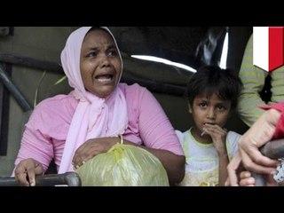 500 名羅興亞移民來到印尼海岸