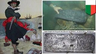 真實版海賊王?馬達加斯加海底尋獲基德船長銀條