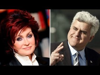 Shocker: Jay Leno at Sharon Osbourne, ex-lovers daw!