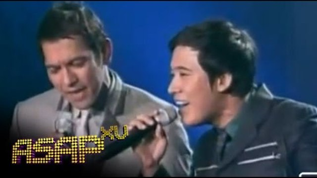 Erik Santos sings 'I Believe I Can Fly' with Gary V