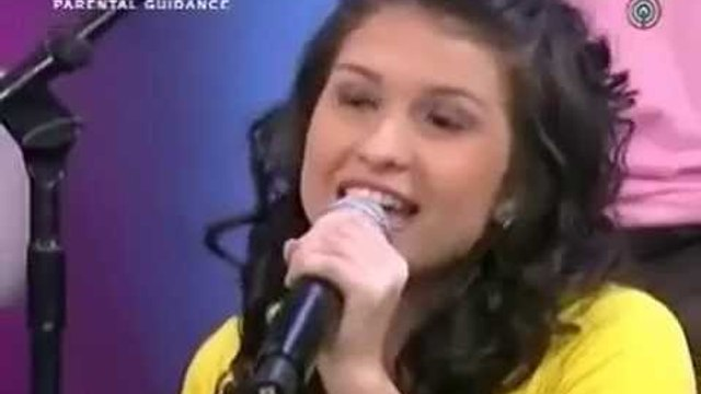 Tippy Dos Santos sings You Belong With Me